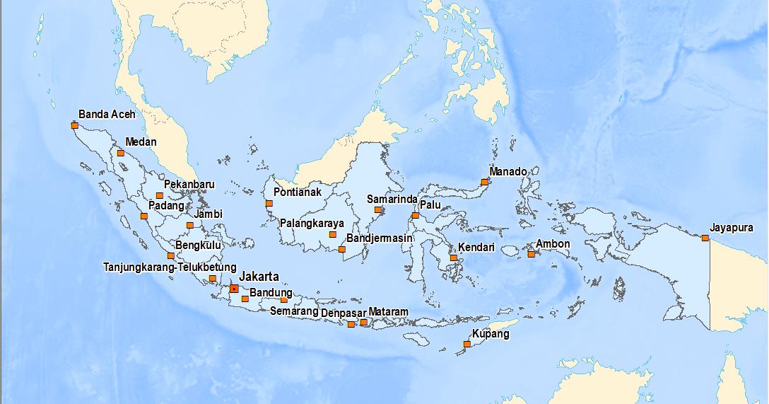 Data Shp Shapefile Seluruh Indonesia Info Geospasial
