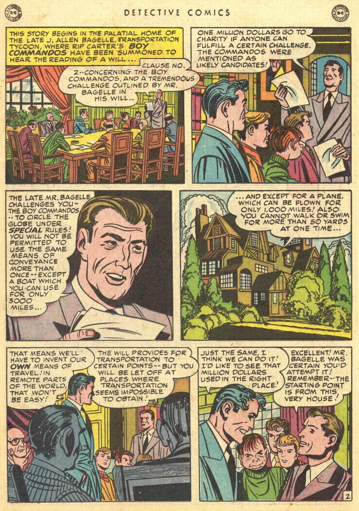 Read online Detective Comics (1937) comic -  Issue #150 - 37