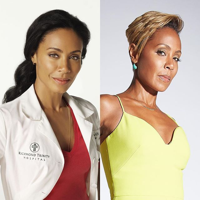 Jada Pinkett Smith #10yearchallenge
