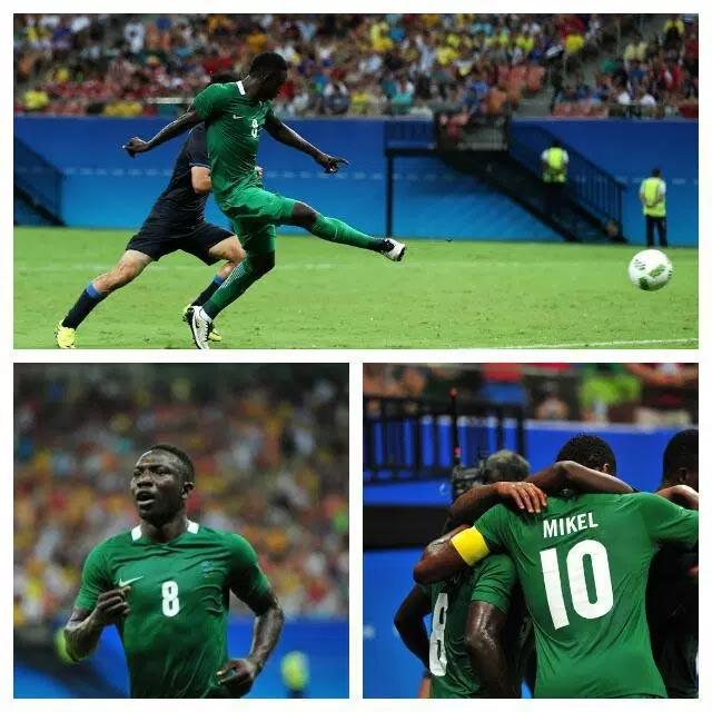 2016 Rio Olympics: Nigeria 5 - Japan 4 (full time)