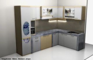 desain Kitchen Set dan Real Minibar 01