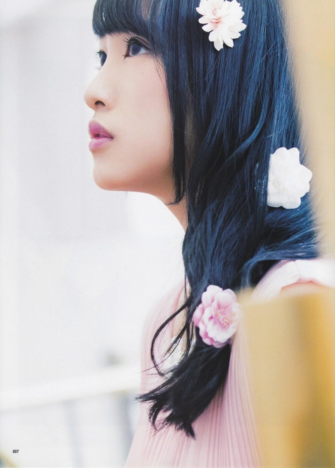 Mukaichi Mion 向井地美音 AKB48, CD&DL My Girl Vol.11 2016 Gravure