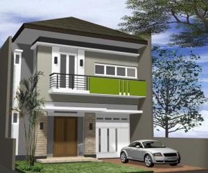 Rumah Minimalis 2 Lantai Desain Rumah Minimalis