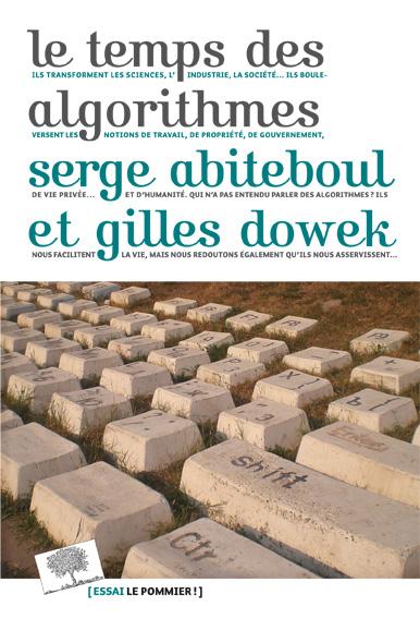 https://www.amazon.fr/temps-algorithmes-Serge-Abiteboul/dp/2746511754/