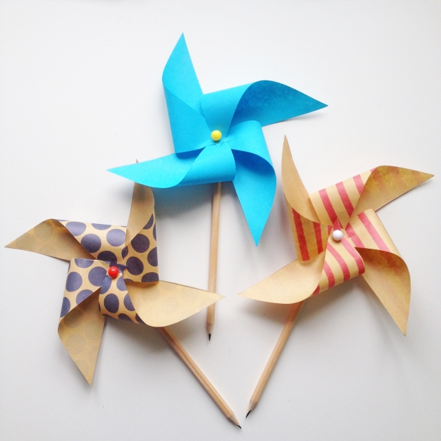 Pinwheel Pencil Toppers Where Wishes Come From