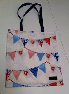 İngiliz flama bayrak desenli omuz çantası