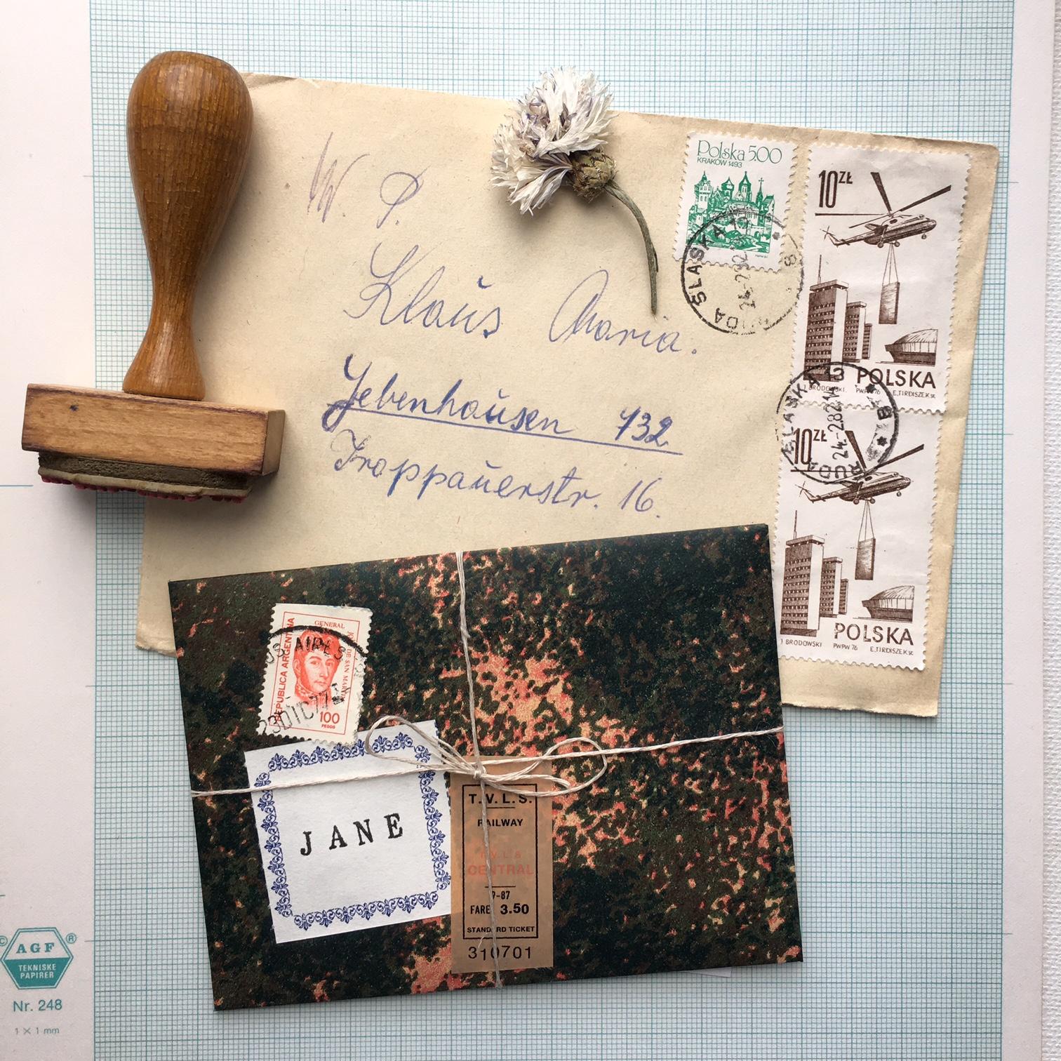 hvor mange frimærker på et brev