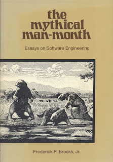 Cover for the mythical man-month