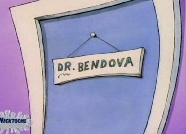 Unfortunately, Your Childhood Cartoons Weren't As Innocent As You Thought (Photos) - Nick At Nite, where the teachers' names are sexual innuendos.