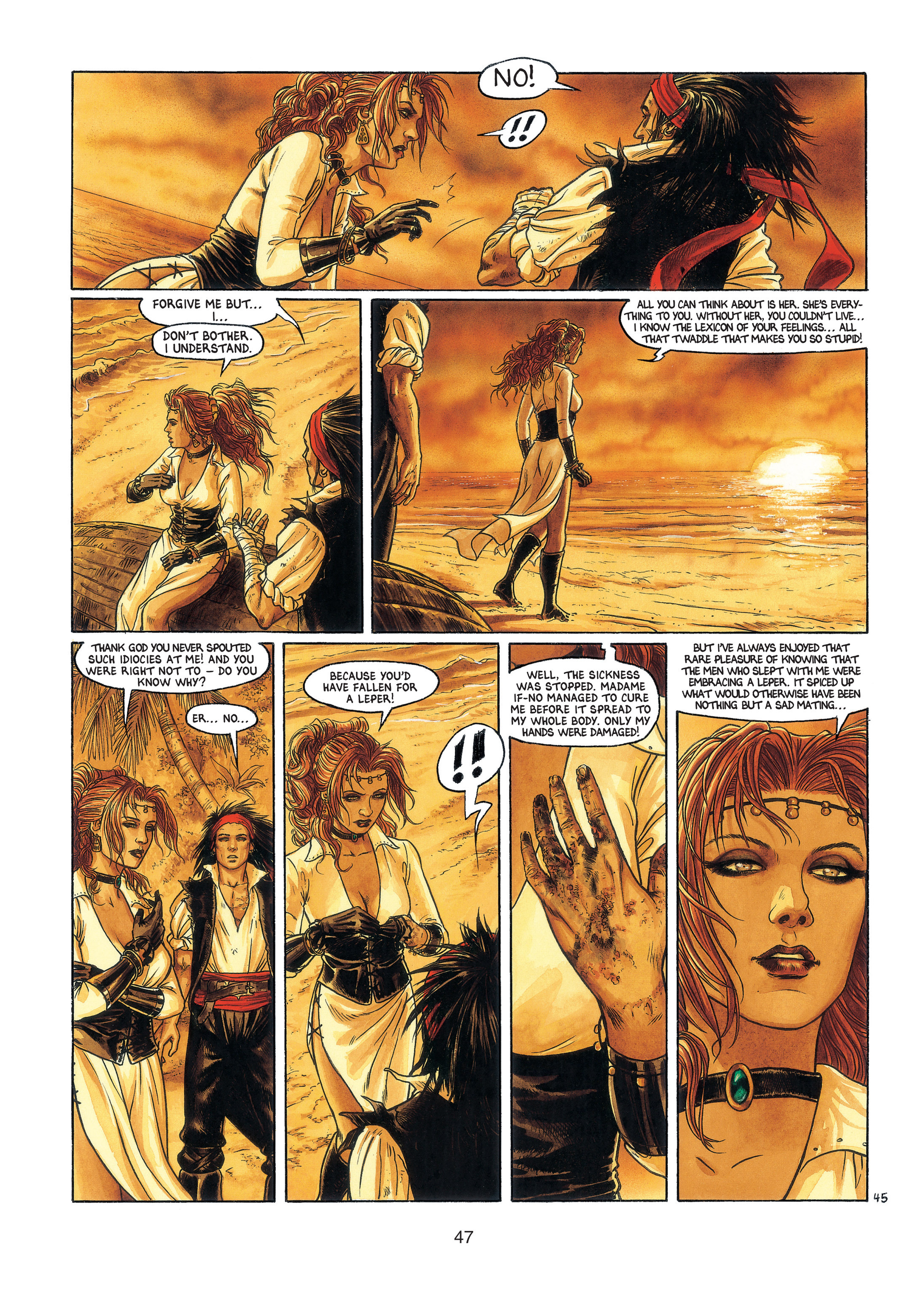Read online Barracuda comic -  Issue #3 - 48