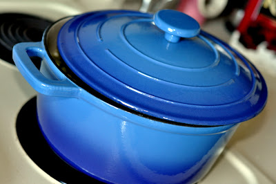 Round Dutch Oven - Photo by Michelle Judd of Taste As You Go