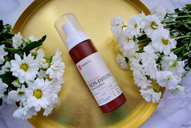 Delikatna pianka do mycia skóry wrażliwej Non-Drying Cleansing Foam Phenome