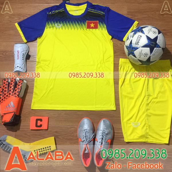 Áo Đội Tuyển Việt Nam 2019 Training Màu Vàng