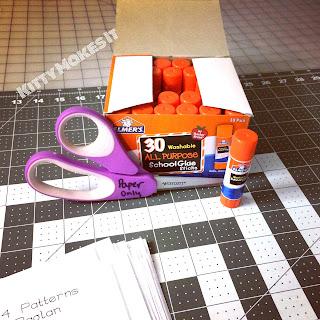 PDF Patterns: Gluing, Adjusting Height, Storage – Kitty Makes It