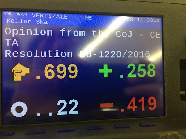 Er zijn grote juridische twijfels of het arbitragemechanisme tussen investeerders en staten in handelsverdag CETA wel in overeenstemming is met Europese wetgeving. Toch durft een meerderheid van het Europees Parlement het niet aan om het Europees Hof van Justitie te laten toetsen of ICS in strijd is met het EU-verdrag. Een resolutie van GroenLinks die daartoe opriep werd woensdag verworpen door christendemocraten, liberalen en een groot deel van de sociaal-democraten.