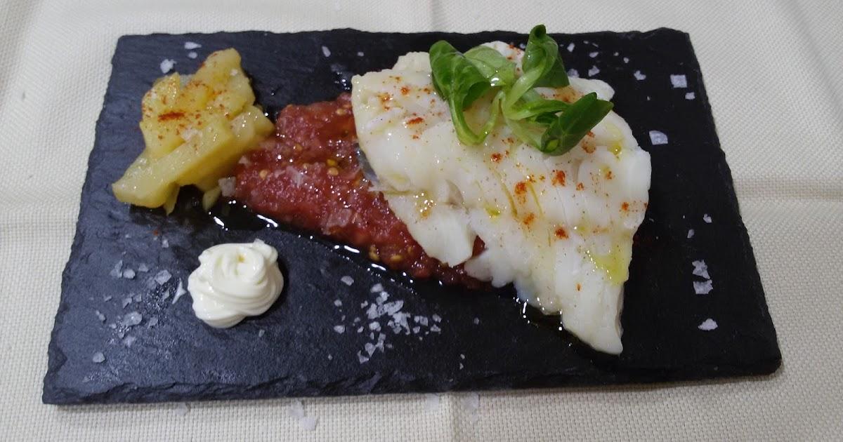 La cocinita de tere bacalao con coulis de tomate fresco y - Bacalao fresco con tomate ...