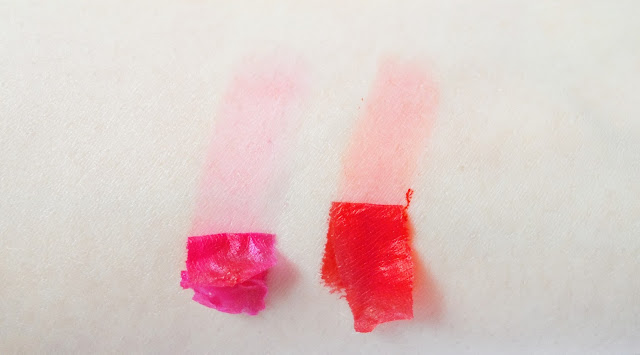 peel off lip mask tint gloss lipstick korean blogger review picture swatches liz breygel