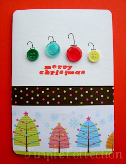 Christmas Cards, button