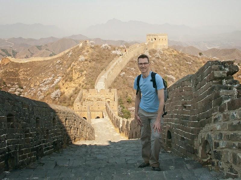 Mario sur la Grande Muraille de Chine