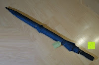 ausgepackt: Golf Regenschirm, Pomelo Best Automatik auf Windresistent mit 128cm Durchmesser aus robusten 190T Pongee Stockschirm geeignet für 3-4 Personen