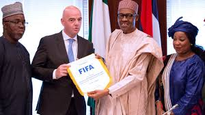 Buhari and FIFA President