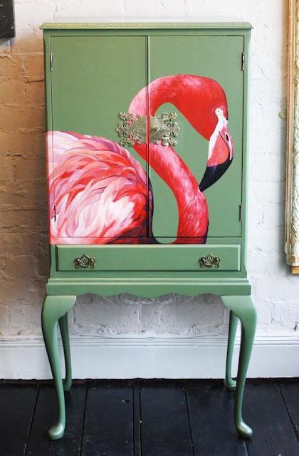 pintura-artesanal-flamingo