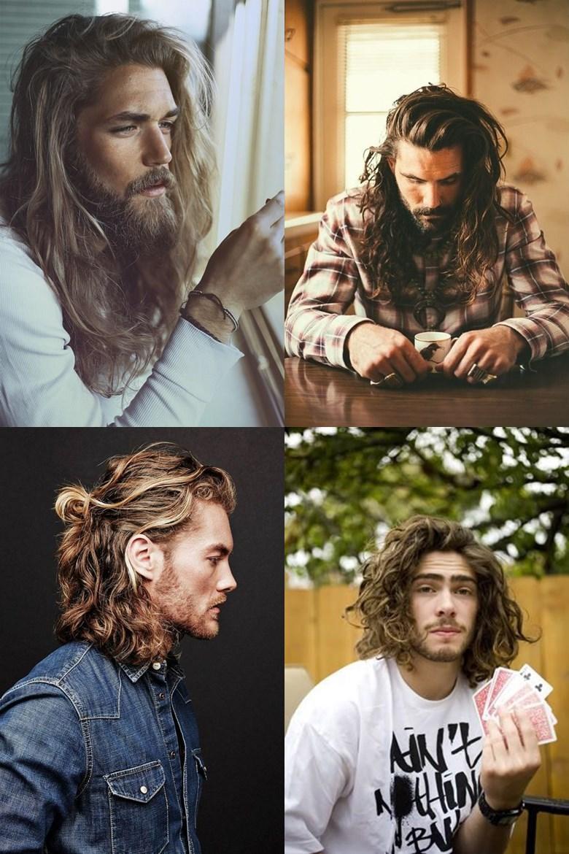 Homens que usam cabelos cacheados ou ondulados em um tamanho maior, por favor, me add rsrs. brincadeiras a parte, o cabelo longo masculino pode ser tão bom quanto o curto com franja. Isso porque é possível fazer muitos penteados, deixando a forma de usar ele mais eclética. As opções mais usadas em cabelos cacheados ou ondulados masculinos são: coque completo (onde pega todo o cabelo) ou rabo de cavalo. Seria um sonho conseguir chegar em um tamanho assim com meu cabelo, mas não consigo passar uma semana sem passar a maquina nos lados. Você usaria?