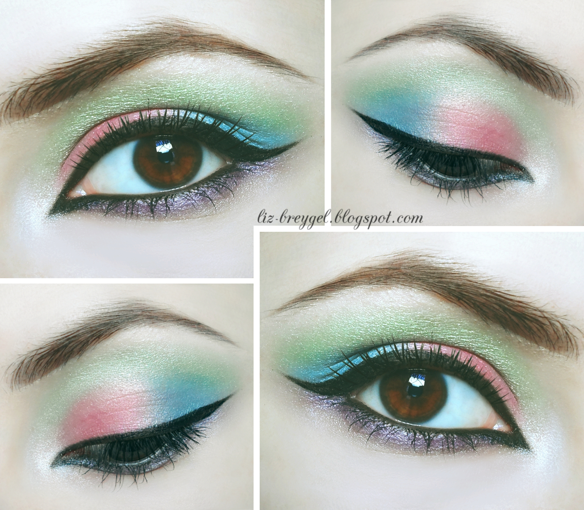 colorful makeup tutorial liz breygel beauty angel beauty uk cosmetics makeup