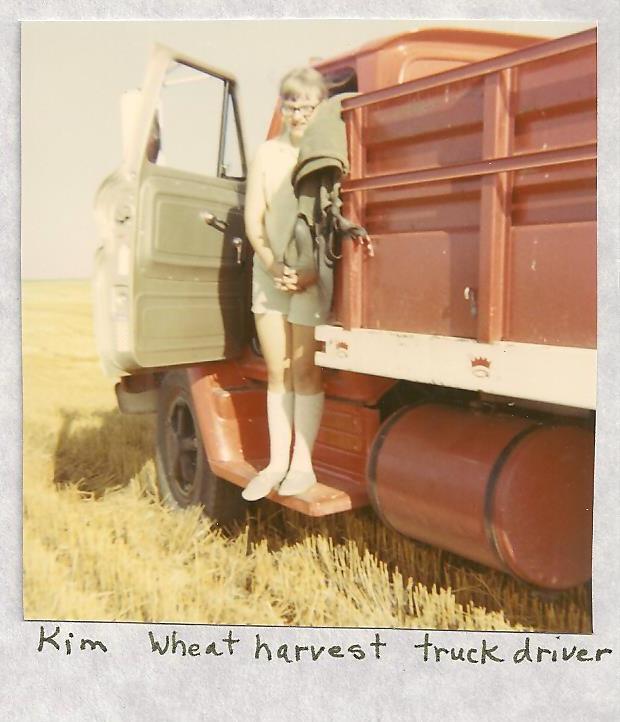 Kim's County Line: Road Trip: Wheat Harvest Version