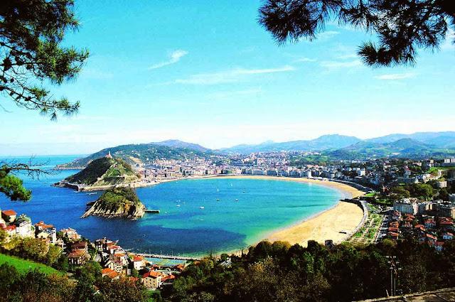 Imagen panorámica de San Sebastián