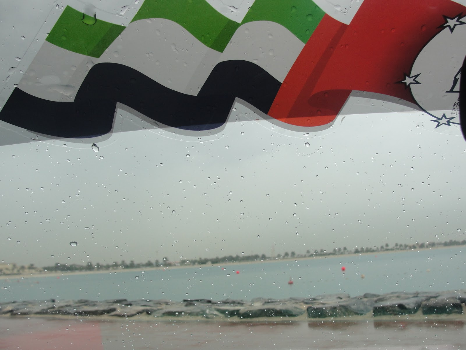 Dubai Uae The New World Landmark Is Uae Not Ready For Real Stormy Weather