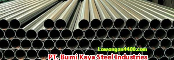 Lowongan Kerja PT. Bumi Kaya Steel Industri Jababeka Cikarang