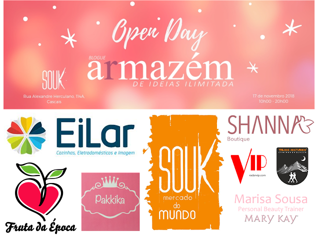 patrocinadores do open day do Armazém