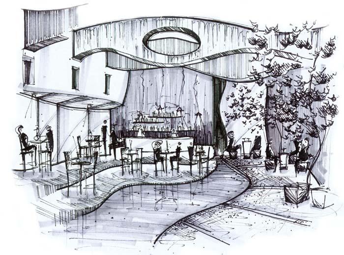 Interior Design Sketch: Interior Design Sketches Inspiration With Simple Ideas