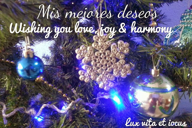 Best wishes from Lux vita et iocus