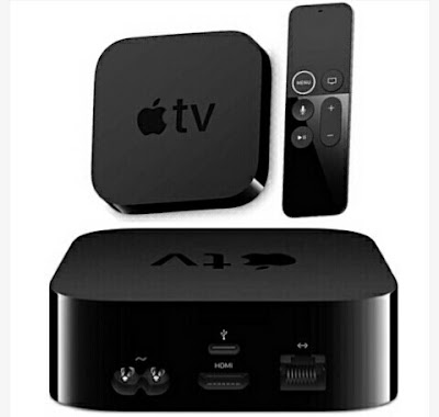 Apple Smart TV Box with Voice Remote