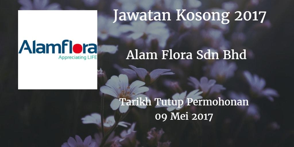 Jawatan Kosong Alam Flora Sdn Bhd 09 Mei 2017