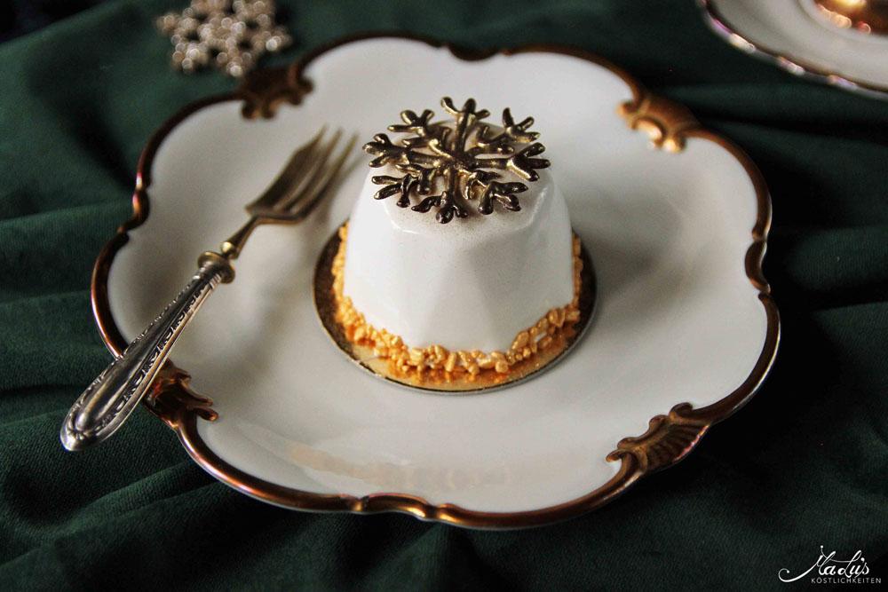 Gewürzmousse-Törtchen mit Mandarine-Krokant - Rezept von MaLus Köstlichkeiten - SCCC 18: Türchen Nr. 20   Gewinnspiel