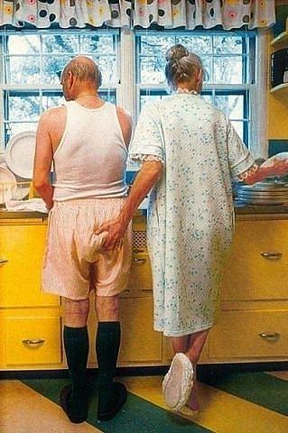 """Как проверить изменяет Ваш муж или нет:  """"Посыпьте постиранные мужнины трусы горчицей. Внешне не заметно, но, если одеть, чешется ужасно... Так вот: если муж пожаловался на зуд, значит верный, а если молчит, как партизан, - изменяет, зараза! """""""