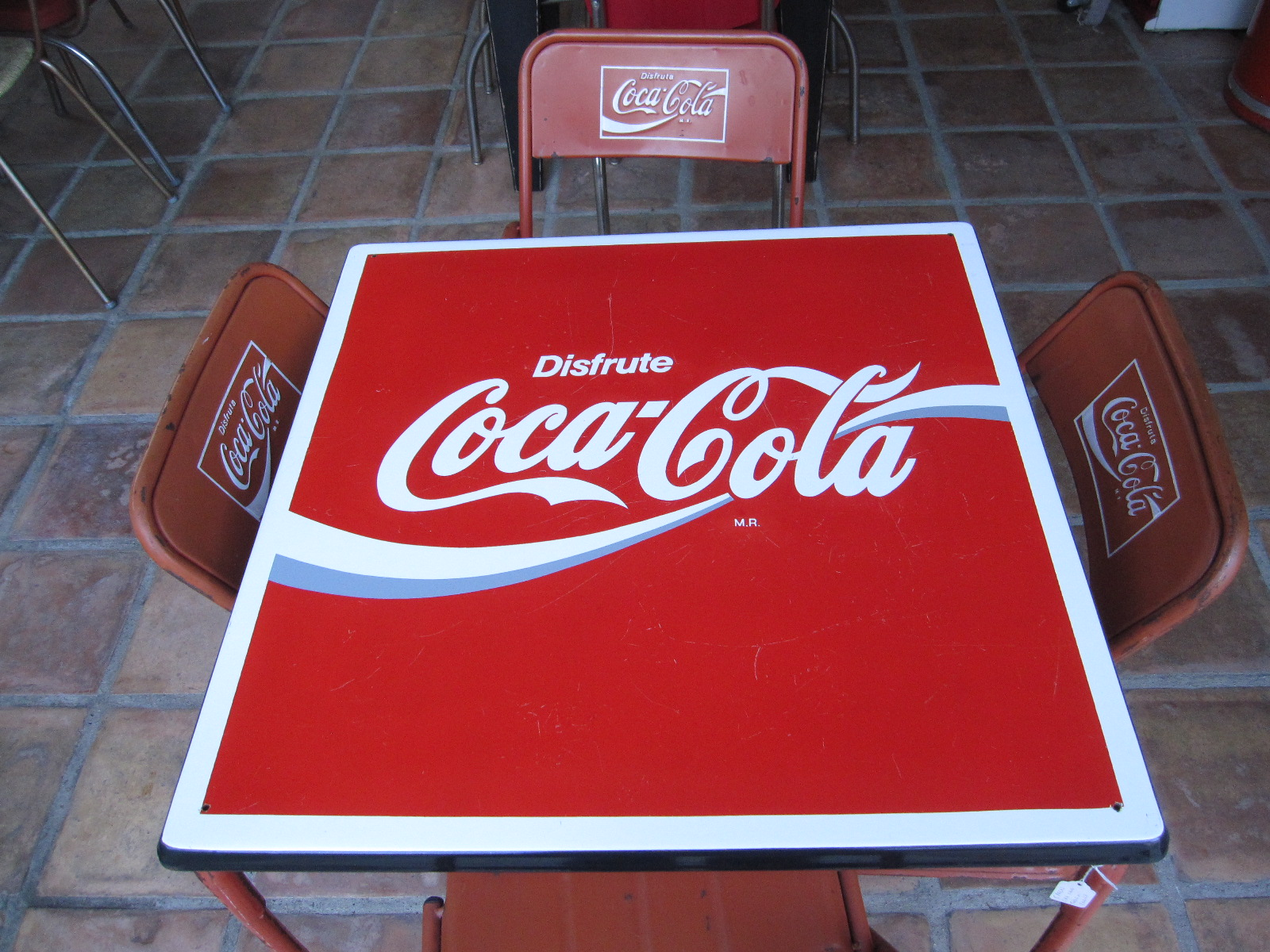 Coca Cola Chairs And Tables Desk Chair Mat For Wood Floor Abundance Of My Heart Collections On Sale