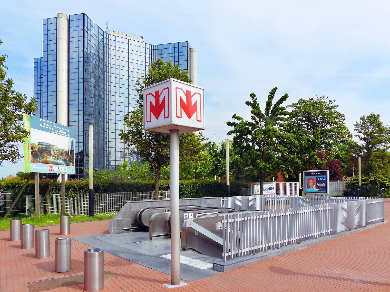 Métro Mercure, Tourcoing