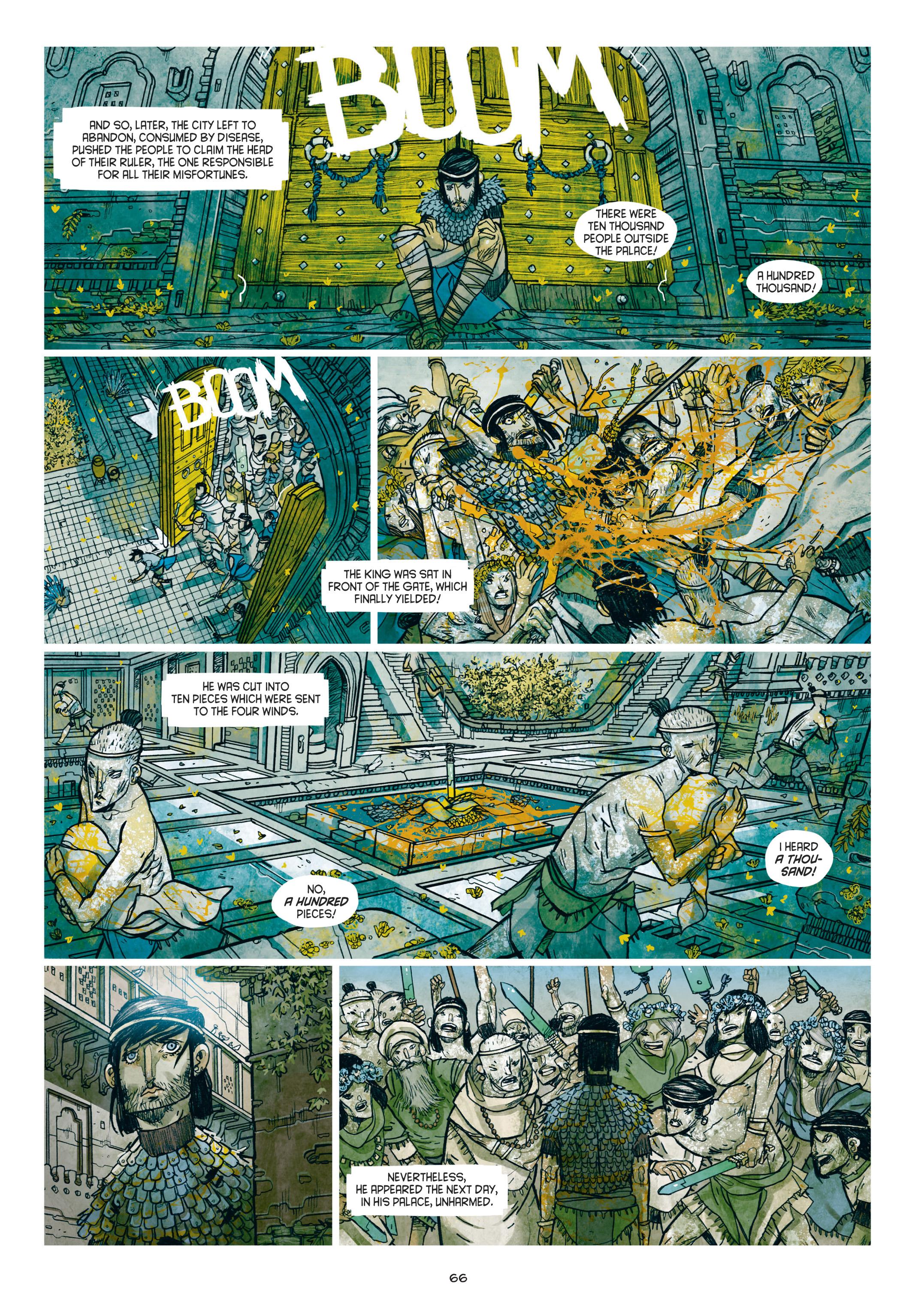 Read online Adrastée comic -  Issue #1 - 67