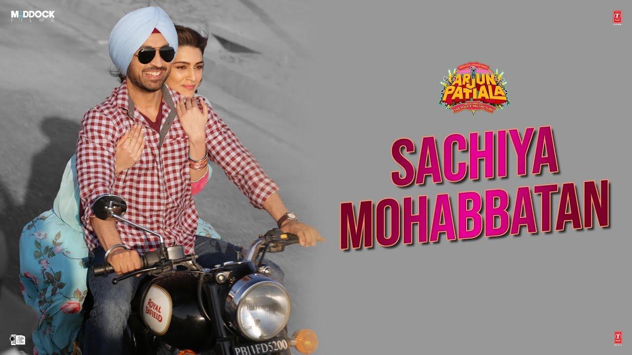 Sachiya Mohabbatan Lyrics, Sachet Tandon