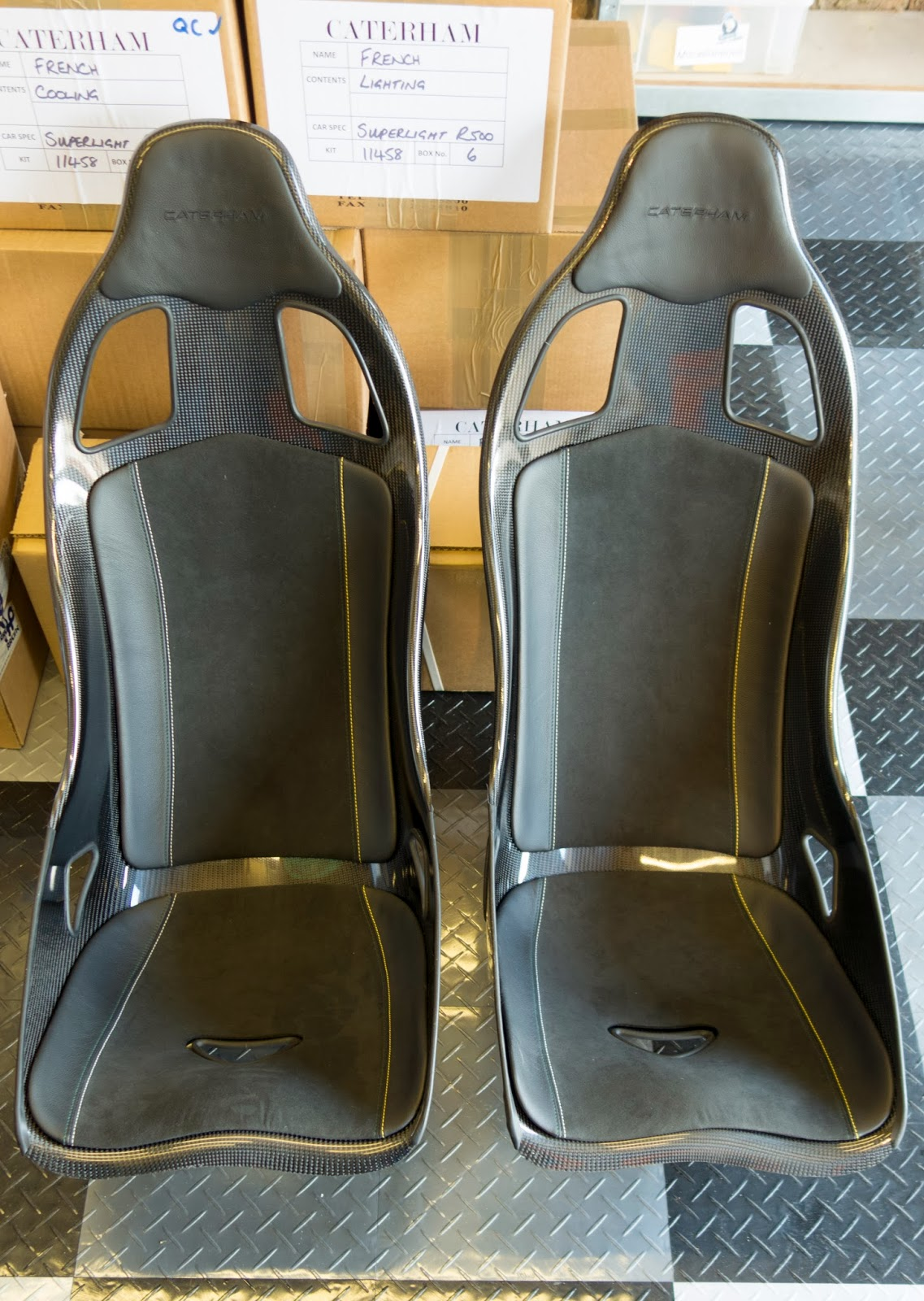 620R seats were delivered, then collected within four hours of delivery as they were 'pre-production' prototypes.