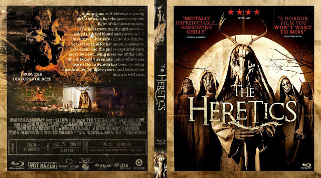 The Heretics Bluray Cover