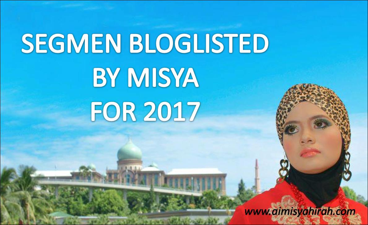Segmen Bloglisted by Misya 2017