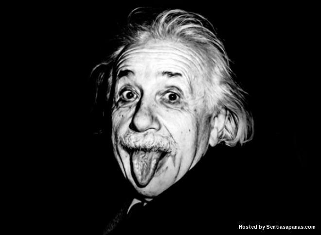 Rahsia Kenapa Albert Einstein Menjelirkan Lidah