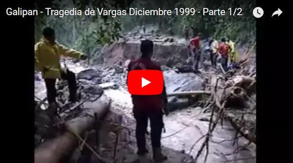 18 Años de la tragedia de Vargas que anunció el final de Venezuela