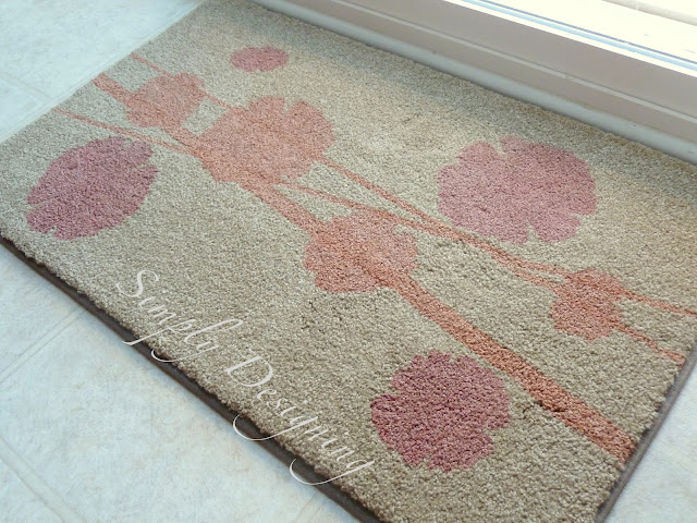 01a DIY Stenciled Rug and a {GIVEAWAY} 13