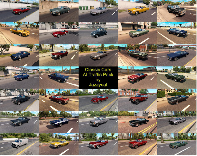 ats classic cars ai traffic pack v2.7 screenshots 2